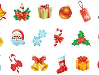 18 icone Natale – Christmas icons