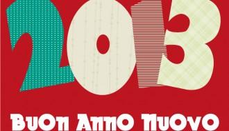 2013 buon anno nuovo – happy new year
