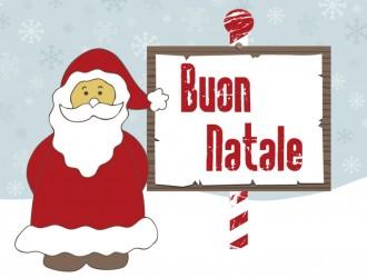 Babbo Natale Buon Natale – Santa Claus Happy Christmas