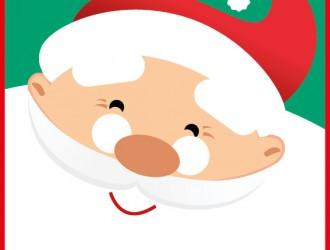 Babbo Natale viso – Santa Claus face