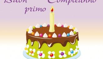 buon primo compleanno – happy first birthday