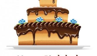 happy birthday choco cake – buon compleanno torta