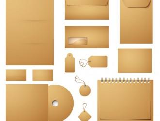 set identità aziendale – business identity