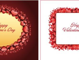 2 biglietti San Valentino – Happy Valentine cards