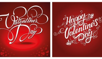 2 biglietti San Valentino – Happy Valentine Day cards