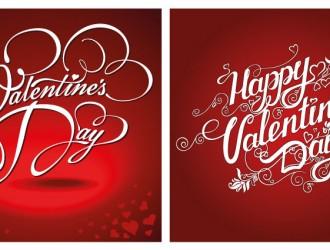 2 biglietti San Valentino – Happy Valentine Day cards