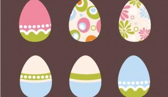 6 uova di Pasqua – 6 Easter eggs