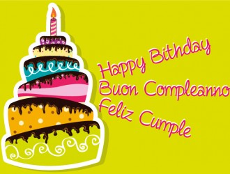 happy birthday, buon compleanno, feliz cumple torta