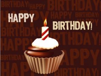 happy birthday cupcake – buon compleanno dolcetto