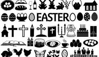 icone Pasqua – Easter symbols