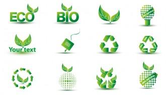 12 icone verdi – green eco icons