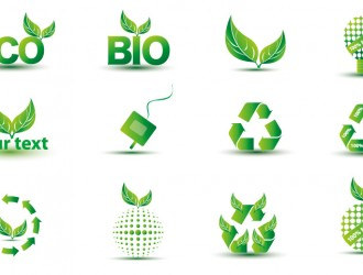 12 icone verdi – green eco icons