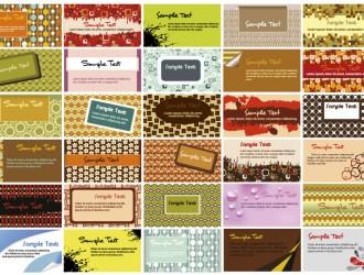 30 bigliettini – cards