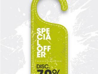 etichetta sconti – special offer label