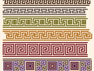 pattern geometrici decorativi – geometric ornament pattern