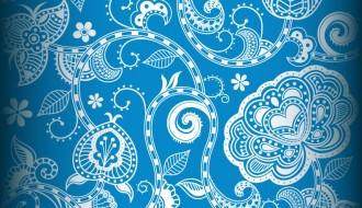 sfondo floreale – Seamless Floral Background