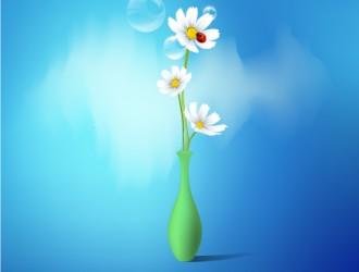 vaso margherite – spring flowers vase