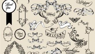 decorazioni nastri – ribbon ornaments