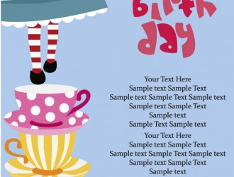 happy birthday postcard – buon compleanno