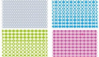 4 pattern astratti – abstract patterns