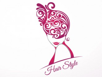 sagoma donna capelli astratti – hair style