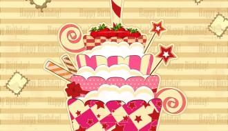 buon compleanno torta fragole – happy birthday