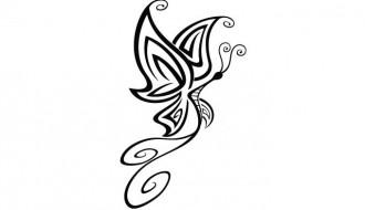sagoma farfalla – butterfly tattoo