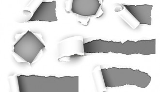 10 carta strappata – torn paper