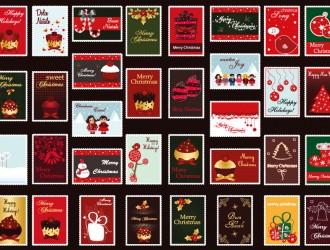 34 bigliettini Natale – sweet Christmas cards
