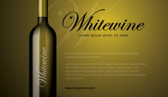 bottiglia vino bianco – whitewine bottle