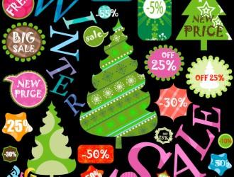 labels winter discounts – saldi Natale