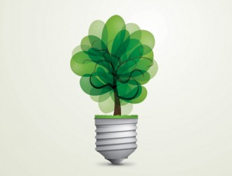 lampadina verde – green light bulb