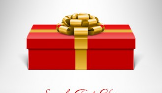 pacco regalo rosso – gift boxes with ribbon