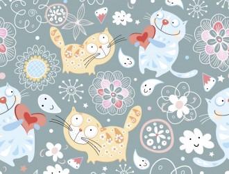 pattern gatti – cats pattern
