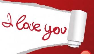 I love you card – bigliettino amore
