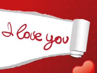 I love you card – bigliettino amore
