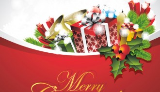 Merry Christmas card – biglietto auguri Natale