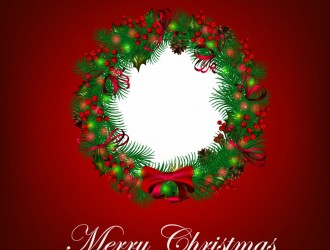 ghirlanda Natale – Merry Christmas Wreath