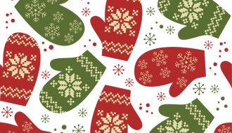 pattern guanti Natale – Christmas gloves pattern
