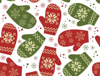 pattern guanti Natale – Christmas gloves pattern