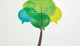 albero fumetto – talking tree
