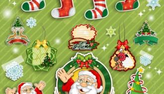 oggetti decorativi Natale – Christmas Decorations elements