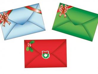 3 buste da lettera – Envelopes