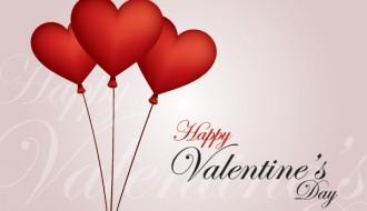 3 palloncini cuore – valentine vector