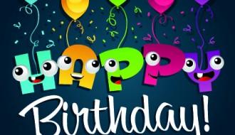 happy birthday cartoon balloon – buon compleanno