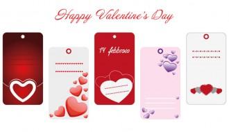 5 love cards – 5 bigliettini amore
