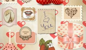 San Valentino set – love elements