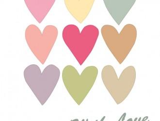 biglietto 9 cuori – 9 hearts love card