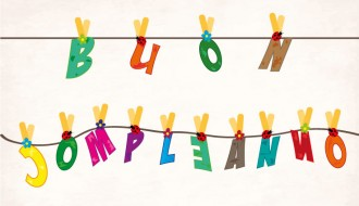 buon compleanno appeso –  hanging happy birthday