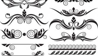 Vettoriali free vectors tag archive bordi for Bordi decorativi